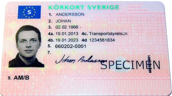 Svenskt körkort