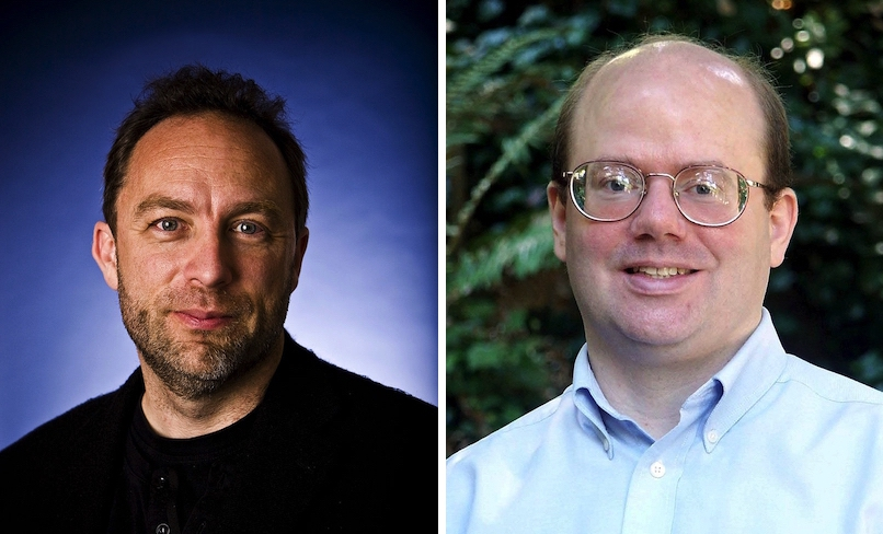 Jimmy Wales & Larry Sanger