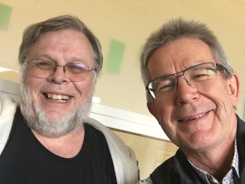 Lars Lindsköld och jag