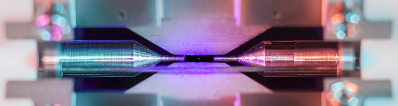 Single atom light
